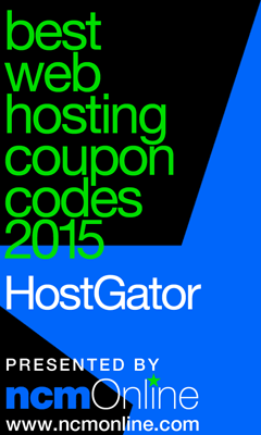 NCM Online 2015 Best Web Hosting Coupon Codes logo.