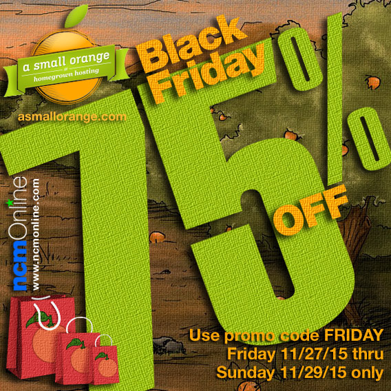 Click for A Small Orange Black Friday Promo Code Discount.