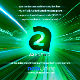 Click for A2 Dedicated Hosting 17% discount promo code page.