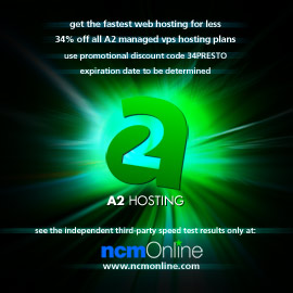 Click for A2 Managed VPS Hosting 34% discount promo code page.