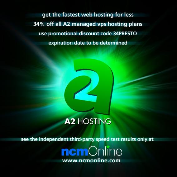 Click for A2 Hosting managed VPS hosting 34% off promo code.