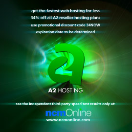 Click for A2 Reseller Hosting 34% discount promo code page.