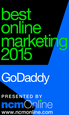 NCM Online 2015 Best Online Marketing logo.