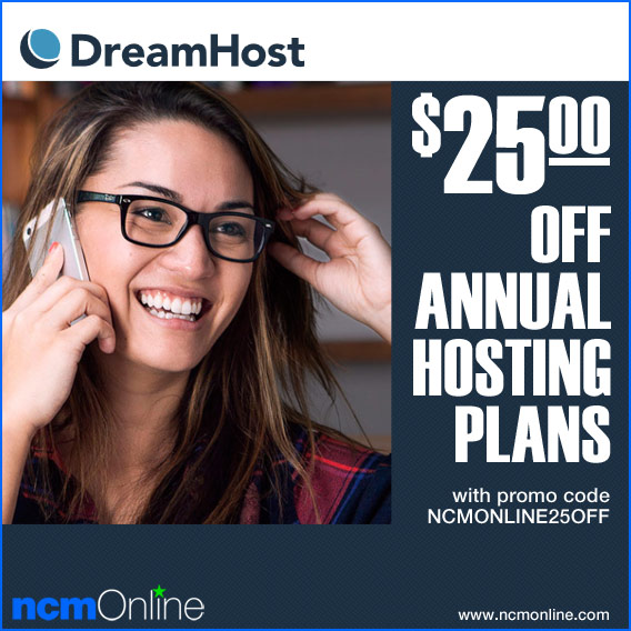 Click for DreamHost $25.00 Discount.
