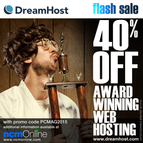 DreamHost 40% Discount Coupon Code.
