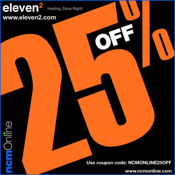 Click for Eleven2 25% Discount.