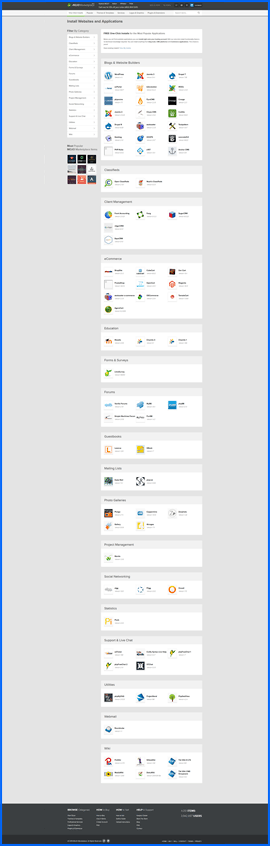 Imagen de pantalla del instalador MOJO Marketplace de FastDomain. Haga clic para ampliar.