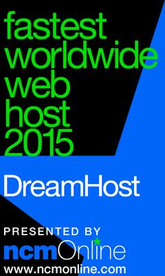 NCM Online 2015 Fastest Web Hosting Worldwide logo.