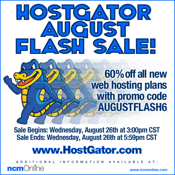 60% Off All New Hosting Packages.