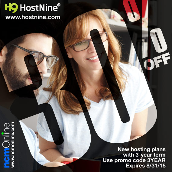 Click for HostNine Coupon Code Sale Discount.