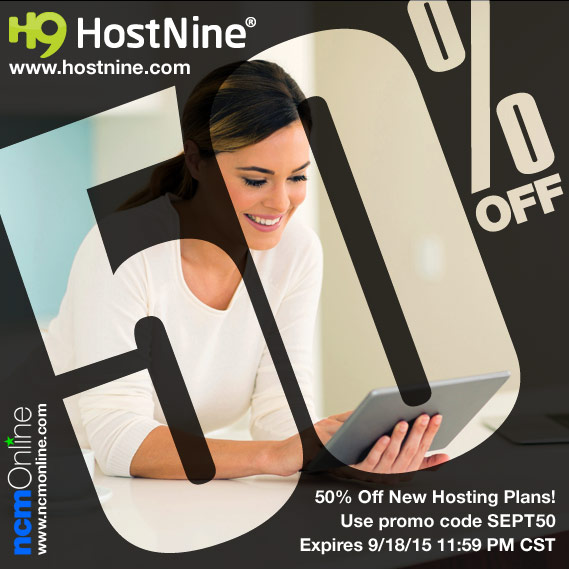 Click for HostNine Promo Code Sale Discount.