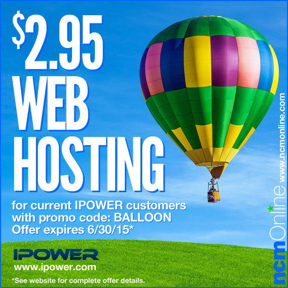 Click for IPOWER Discounted Hosting.