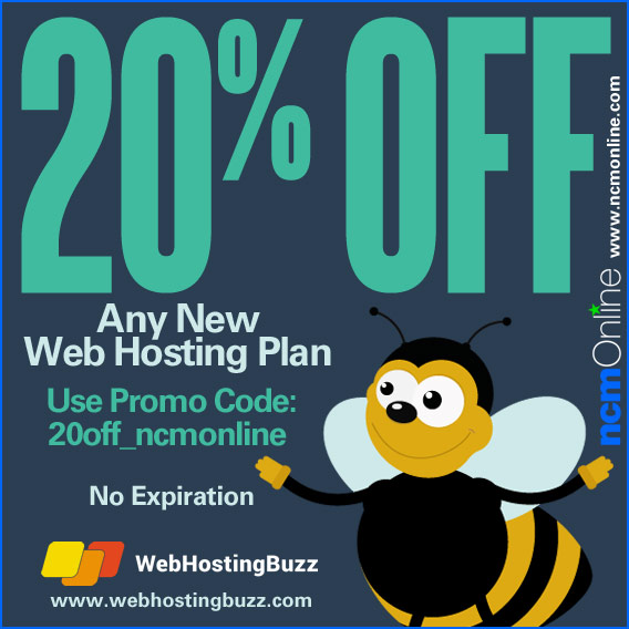 Click for WebHostingBuzz 20% Discount.