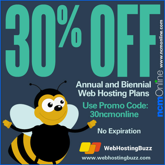 Click for WebHostingBuzz 30% Discount.