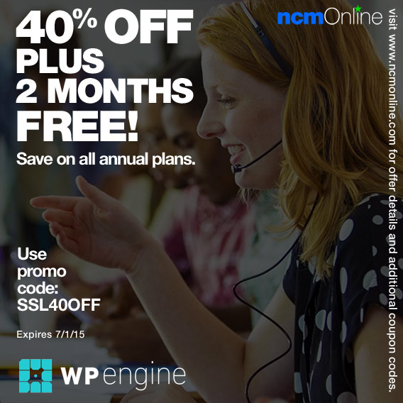 WP Engine Coupon Code.