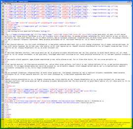 Screenshot of Yahoo Live Web Insights script. Click to enlarge.